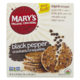 Mary's Organic Crackers Black Pepper Cracks 184g